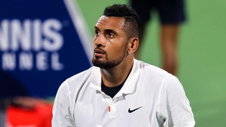 Kyrgios é despachado em menos de uma hora em Atlanta e vai sair do top 70 ATP