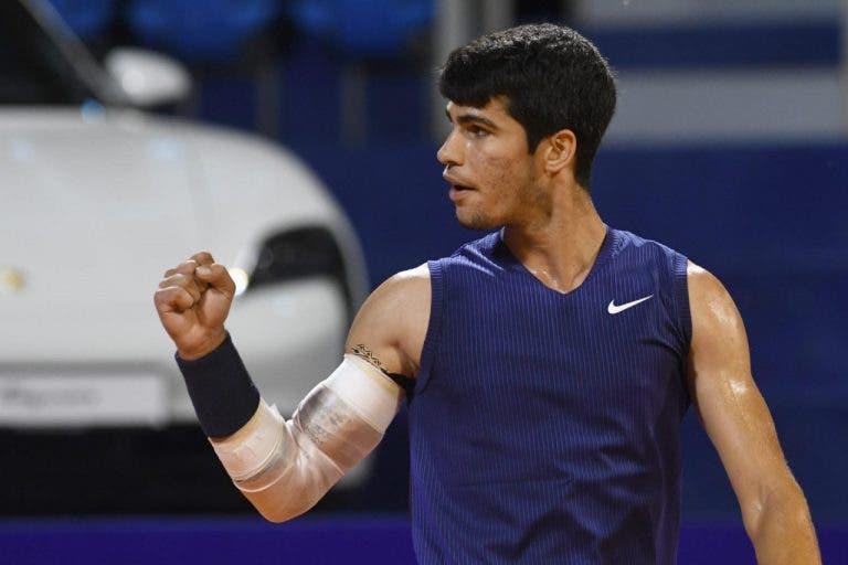Alcaraz faz história e conquista primeiro título ATP em Umag