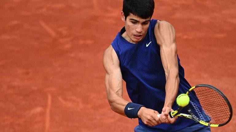 De regresso à terra: depois do título, Alcaraz é eliminado à primeira em Kitzbuhel pelo… 337.º ATP