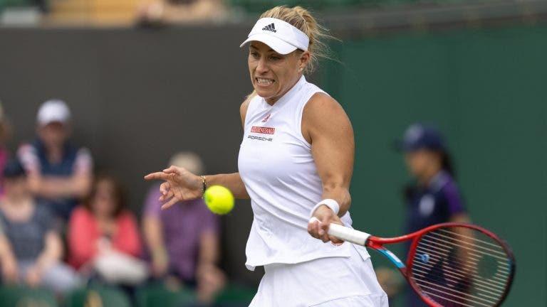 Kerber mostra fibra de campeã e regressa às meias-finais de Wimbledon