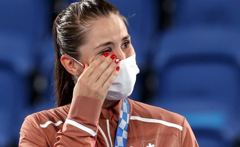 Bencic conquista o terceiro ouro e quinta medalha do ténis suíço nos Jogos