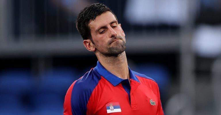 Djokovic diz que jogou medicado: «Espero conseguir jogar o US Open»