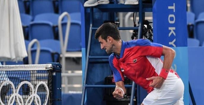 Nadal reage ao ataque de fúria de Djokovic em Tóquio: «São coisas que não deviam acontecer»