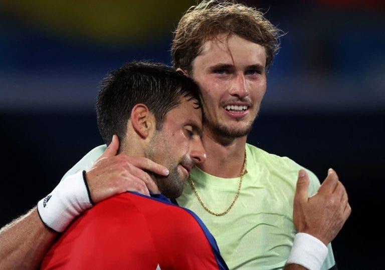 Djokovic prepara-se para Zverev: «O que aconteceu nos Jogos Olímpicos foi muito duro…»