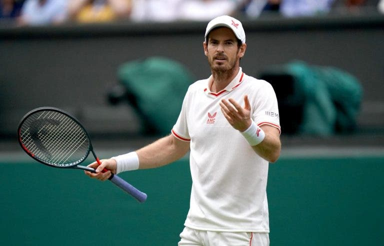 Murray perdeu os seus últimos nove encontros frente a tenistas do top 25