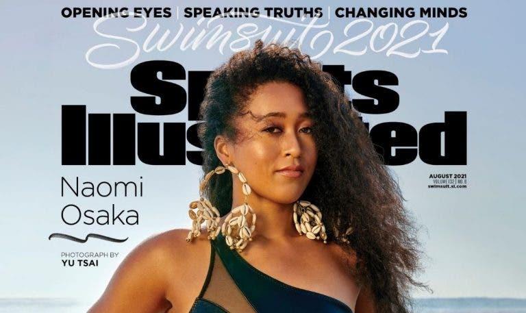 Osaka faz história com capa da Sports Illustrated, é atacada, responde e… apaga