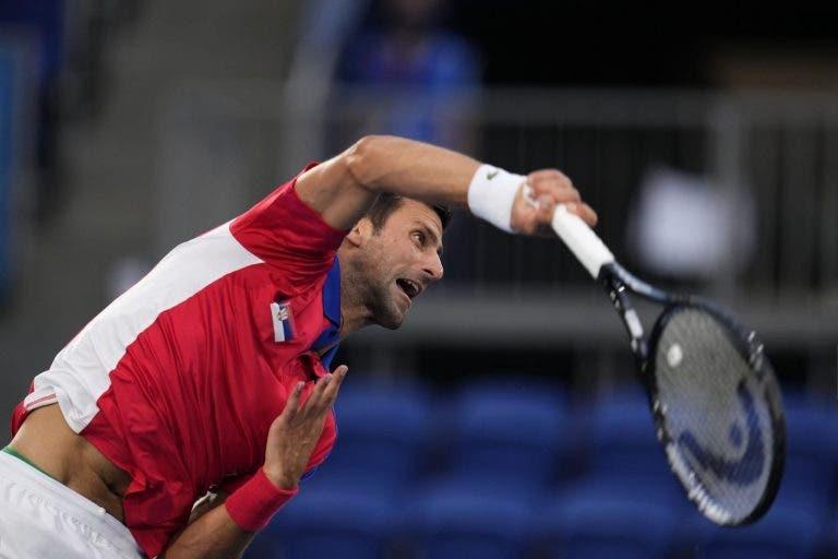 Djokovic arrasa Nishikori e vê ouro dos Jogos Olímpicos cada vez mais perto