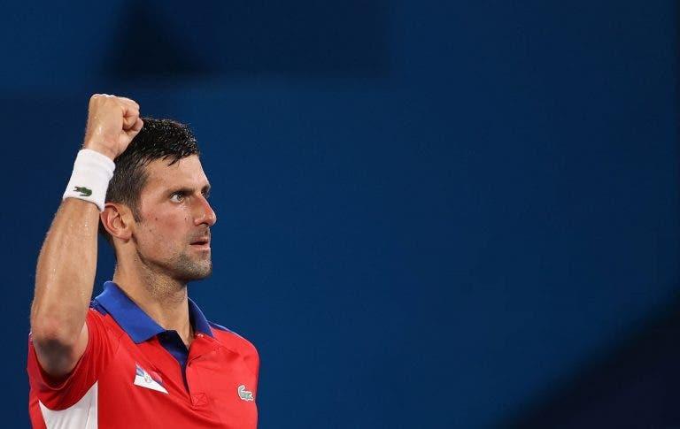Djokovic fixa recorde olímpico com mais umas meias-finais e apanha Federer noutro