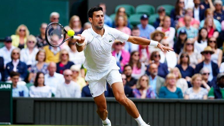 Djokovic iguala 20 Grand Slams de Federer e Nadal e já começa a olhar para… Margaret Court
