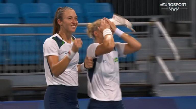 BRASIL! Pigossi e Stefani salvam quatro match points e brilham rumo aos quartos-de-final