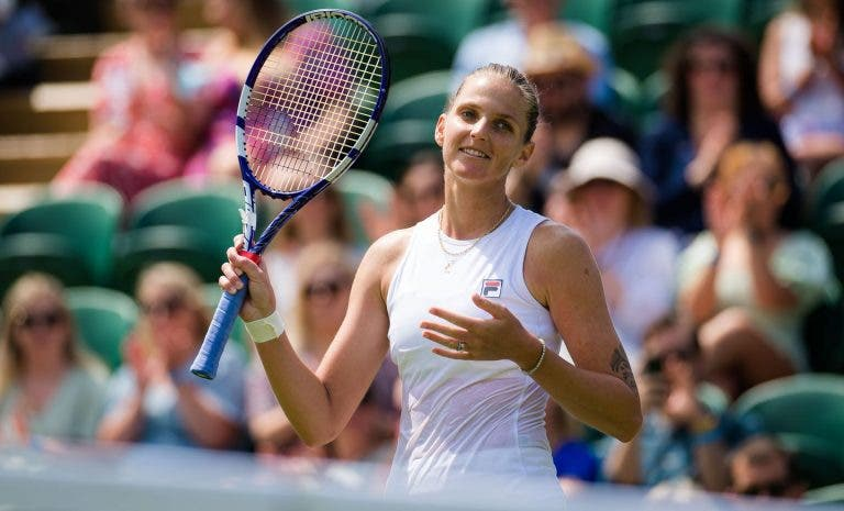 Pliskova sobrevive a duelo bombástico e volta à final de um Grand Slam cinco anos depois