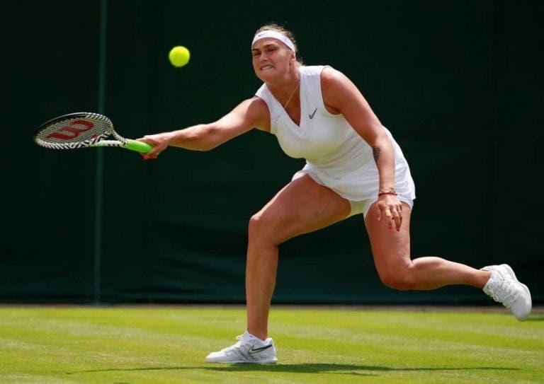 Sabalenka: «Cheguei a pensar que nunca ia chegar à segunda semana de um Grand Slam»