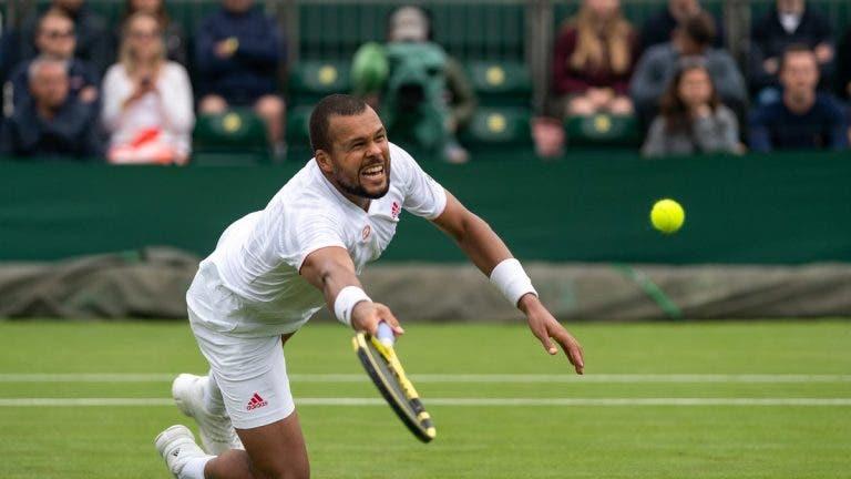 Fim à vista? Tsonga admite que esta pode ter sido a sua última vez em Wimbledon
