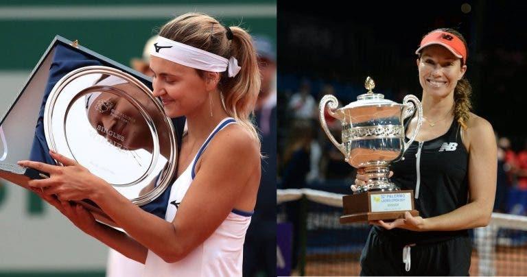 Collins e Zanevska conquistam primeiros títulos WTA da carreira