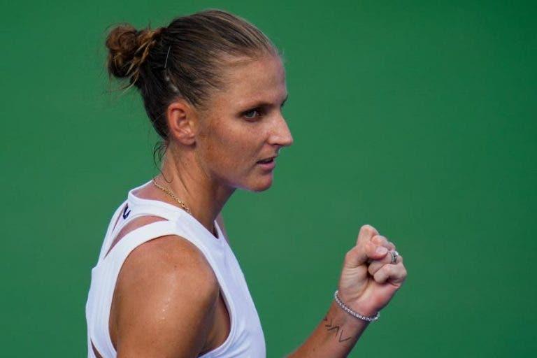 Karolina Pliskova é a quarta apurada para as WTA Finals
