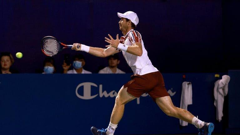 Murray sofre mais uma derrota dura: «É muito dececionante perder desta maneira»