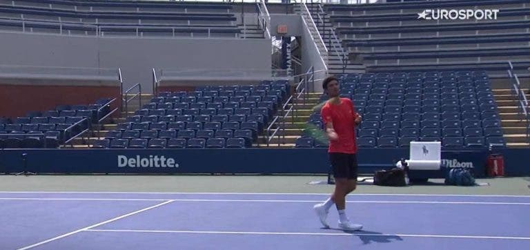A um passo da elite! Gastão Elias passeia em Nova Iorque e está a uma vitória do quadro no US Open
