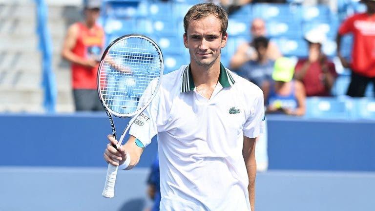 Medvedev e o US Open: «Vou fazer todos os possíveis para que o Big 3 continue com 20 Grand Slams»
