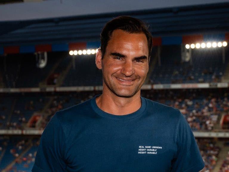 Federer: «Cada dia é um dia melhor. Estou a sentir-me forte e entusiasmado para o que aí vem»