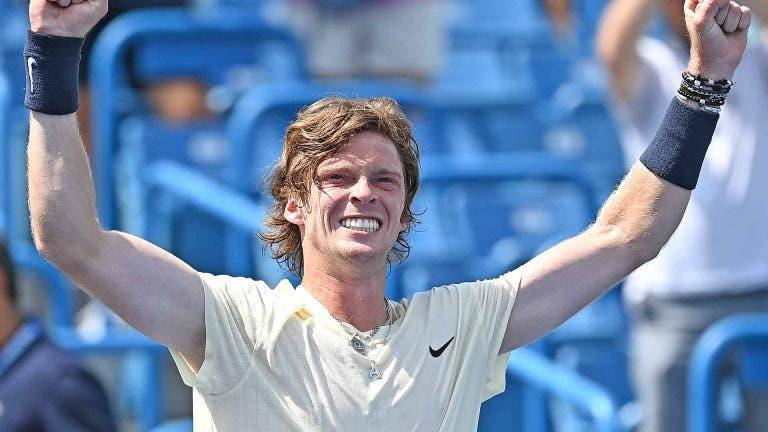 Rublev é o quinto russo da história a chegar ao top 5 ATP