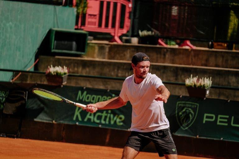 Monteiro derrota Cação em 50 minutos e avança no Braga Open