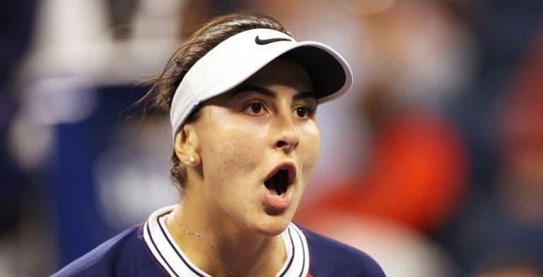 Andreescu melhora e soma 9.ª vitória seguida no US Open rumo à 3.ª ronda