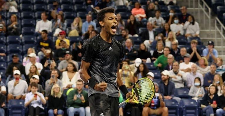 Auger-Aliassime vence o prémio 'Desportivismo' do US Open