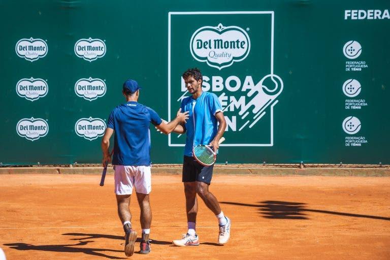 Imparáveis: Nuno Borges e Francisco Cabral continuam em grande e estão na final do Lisboa Belém Open