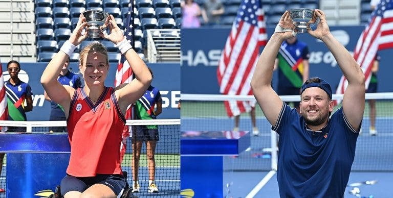 US Open já recebeu dois Golden Slams este domingo antes da final masculina