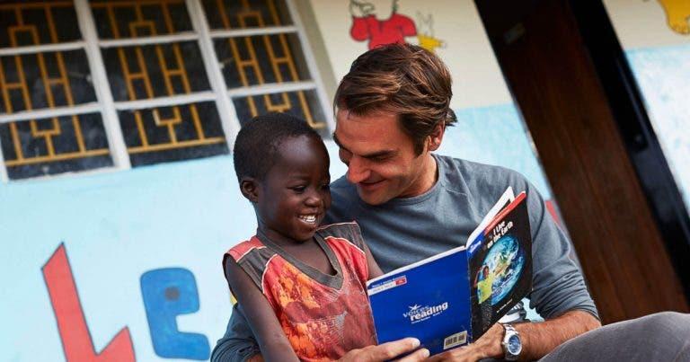 Federer investiu 13,5 milhões em 80 escolas no Malawi