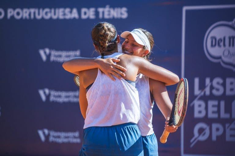 Francisca Jorge e Matilde Jorge sagram-se vice-campeãs do Loulé Open Ladies