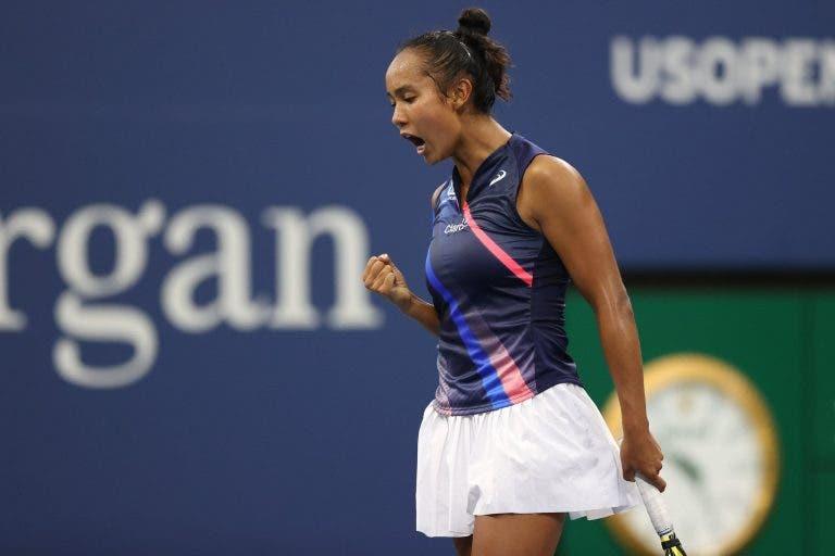 Leylah Fernandez: «Quero deixar os adeptos com um sorriso na cara como Nadal e Federer»