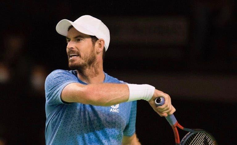 Murray desilude e perde num Challenger com terceiro set desastroso frente a 158.º do mundo