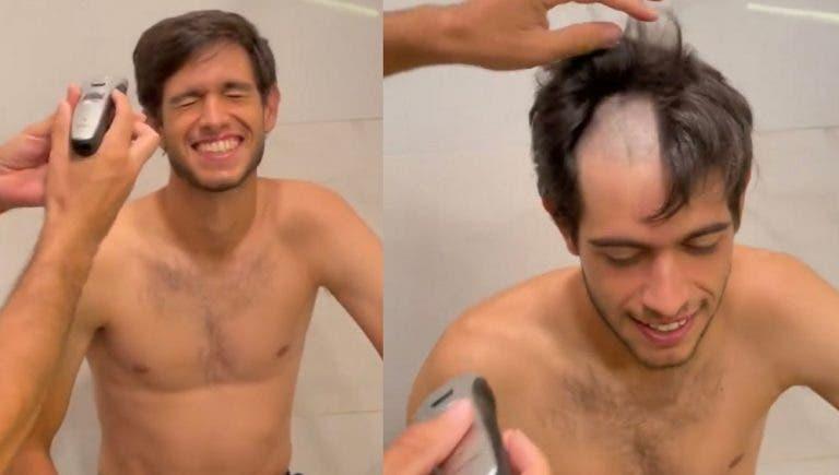 [VÍDEO] Estreante Nuno Borges foi praxado pelos veteranos da Davis