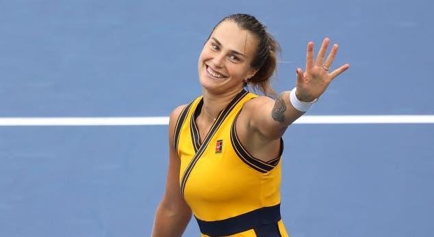 Sabalenka e Krejcikova escapam à chuva e fecham dia perfeito para as top 10 WTA
