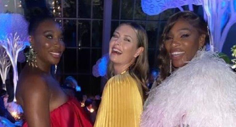 Reencontro! Eternas 'inimigas', Sharapova e irmãs Williams reencontram-se em Nova Iorque