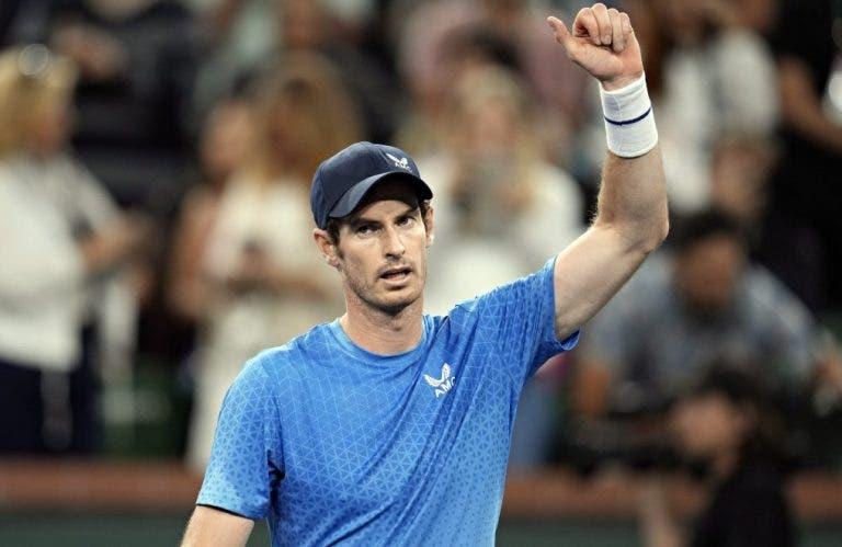 Murray e o ás no serviço por baixo: «Nunca tinha feito uma coisa destas no circuito ATP»