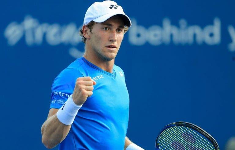 Murray volta a mostrar-se ao nível dos melhores mas não resiste a Ruud em San Diego