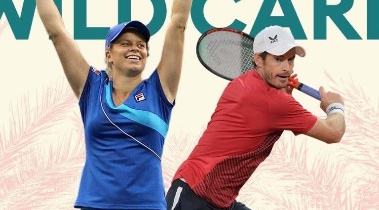 Clijsters e Murray recebem wild cards para Indian Wells