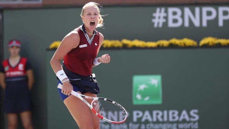Kontaveit segue imparável e elimina a campeã Andreescu em Indian Wells