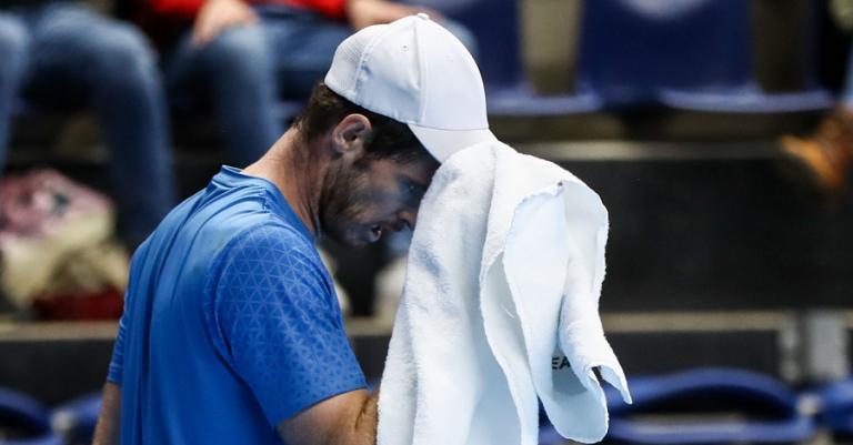 Murray: «Desporto é resultados. Não interessa se joguei bem se voltei a perder»