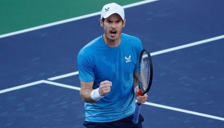 [VÍDEO] Murray perdeu mas teve momentos 'vintage' contra Zverev