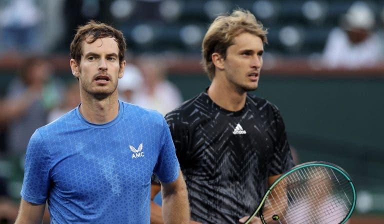 Murray: «Não me sentia tão bem fisicamente há muito tempo»