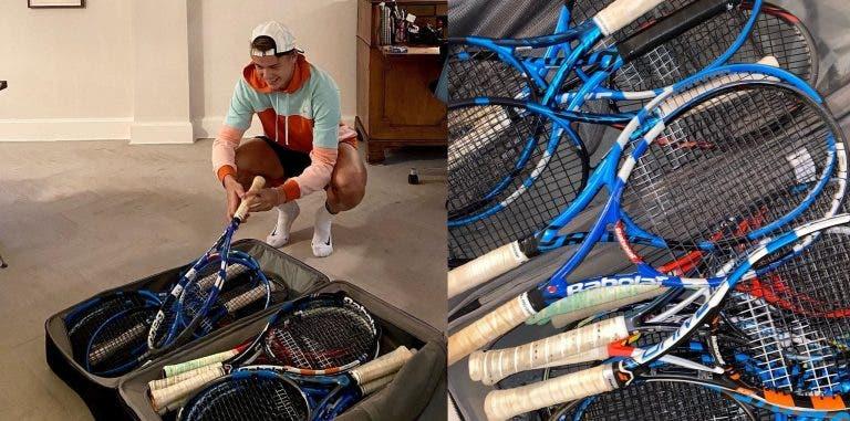 Holger Rune envia raquetas para crianças de países africanos